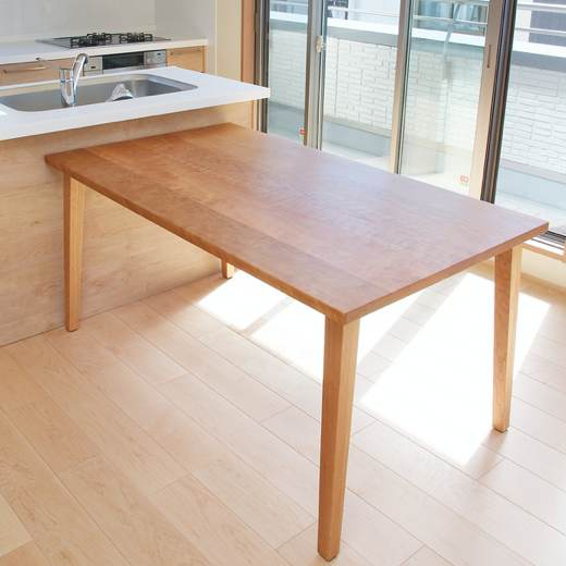 チェリー材テーブルA